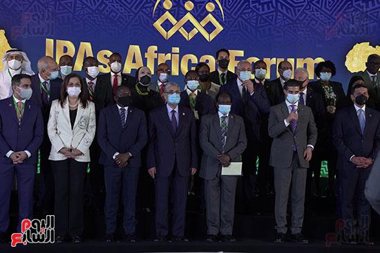 المنتدى الأول لرؤساء هيئات الاستثمار الأفريقية المنعقد بشرم الشيخ (10)