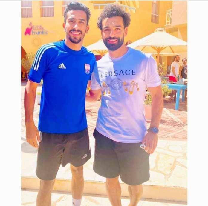 Mohamed Salah and El Gouna players (5)