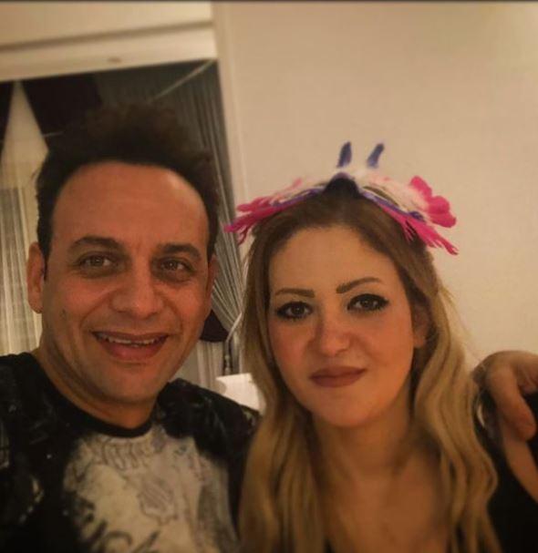 Mostafa Qamar and his wife
