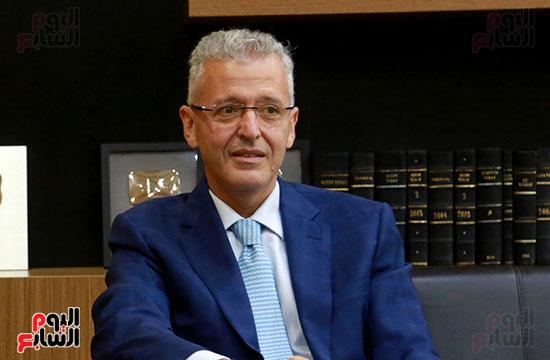 الرئيس التنفيذى لجى بى غبور أوتو فى زيارة لـاليوم السابع (7)