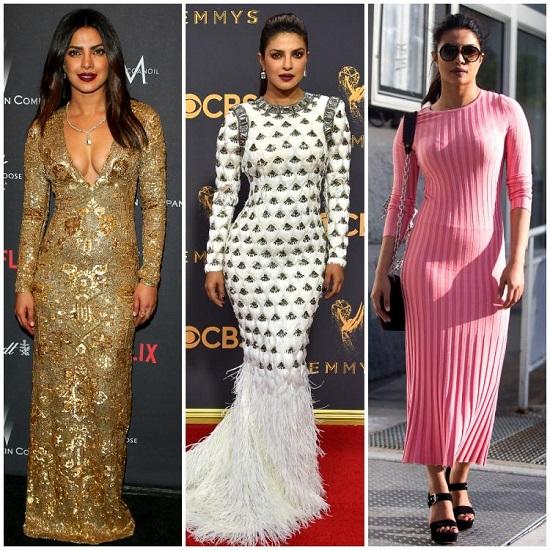 البسي الفساتين الضيقة على طريقة بريانكا تشوبرا  (3)