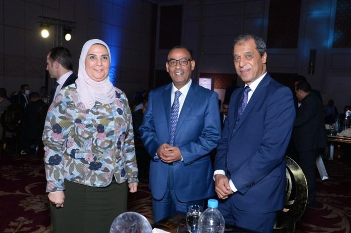 رنين تحتفل بنجاح مهرجان على وش جواز بحضور وزير التضامن (1)