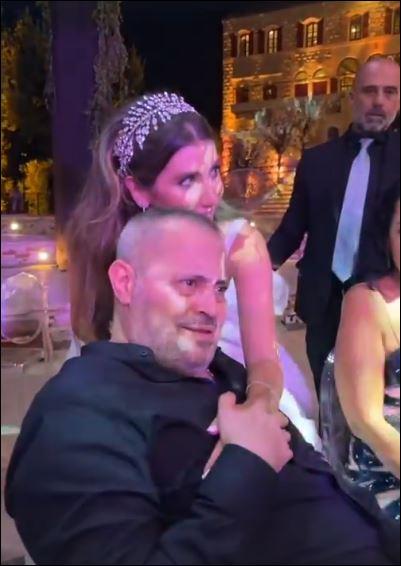 حفل زفاف نجل جورج وسوف  (4)