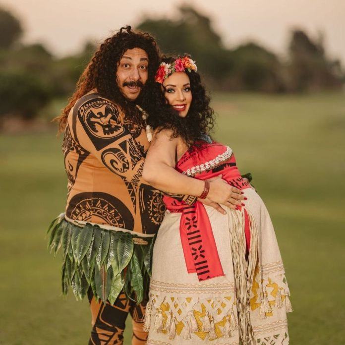 Muhammad Tharwat and his wife Moana style
