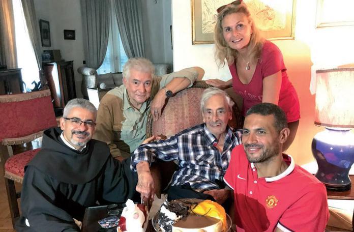 Artists celebrate Jamil Rateb's birthday