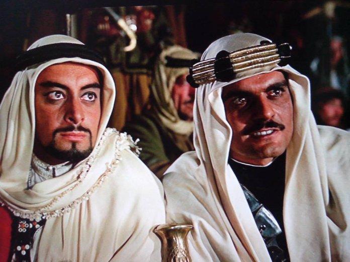 Jamil Ratib and Omar Sharif in