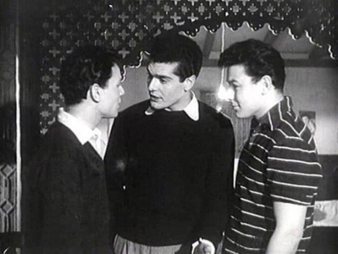 With Omar Sharif and Abdel Halim