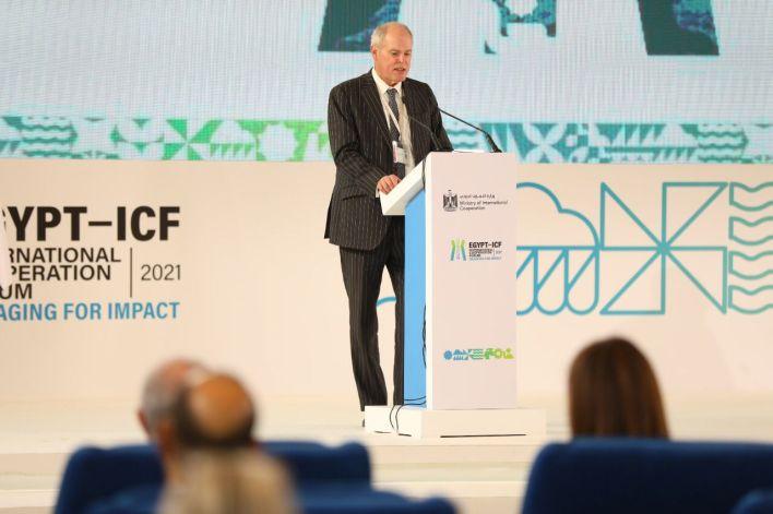 نائب الأمين العام لمنظمة التعاون الاقتصادي والتنمية خلال كلمته
