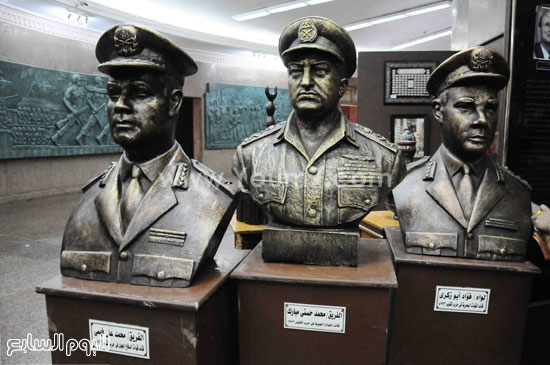 بالصور بانوراما حرب أكتوبر تجسد معارك الجيش المصرى