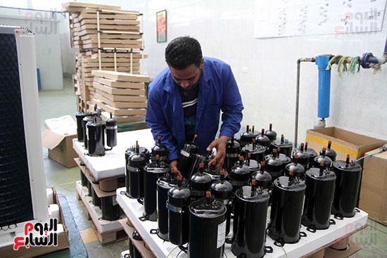 خط إنتاج، التكييف المصرى، جالينز ، مصنع 360 الحربى (7)