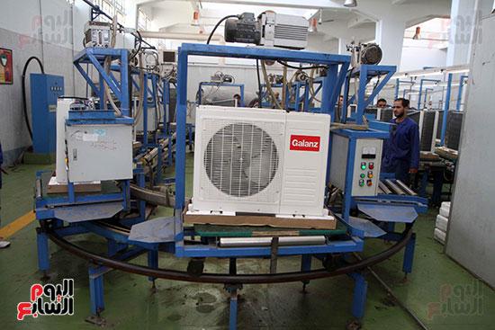 خط إنتاج، التكييف المصرى، جالينز ، مصنع 360 الحربى (12)