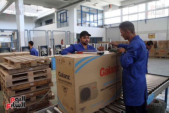 خط إنتاج، التكييف المصرى، جالينز ، مصنع 360 الحربى (27)