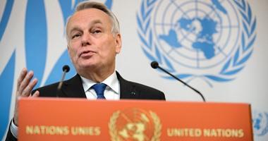 وزير الخارجية الفرنسى جون مارك ايرولت