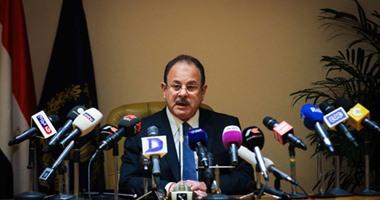 اللواء مجدى عبدالغفار وزير الداخلية