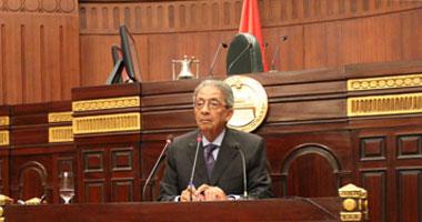 عمرو موسى رئيس لجنة الخمسين