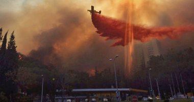وصول الطائرات الأوروبية إلى إسرائيل للمشاركة فى إخماد الحرائق