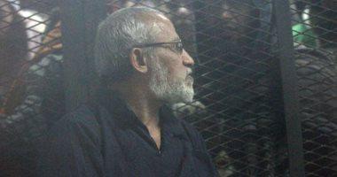 """المشدد 10 سنوات لـ""""بديع والبلتاجى"""" فى حريق مجمع محاكم الإسماعيلية"""