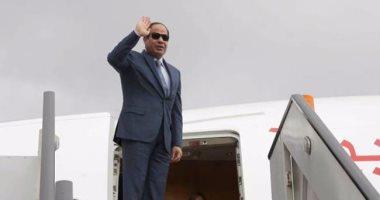 الرئيس السيسي يصل كينيا فى زيارة تستغرق يوما واحدا