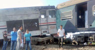 القوات المسلحة تدفع بـ10 مينى باص و15 عربة لإنقاذ ضحايا قطار إسكندرية