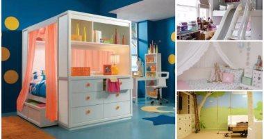ألوان غرف أطفال هتدلع بيتك اختارى منها إللى يناسبك اليوم