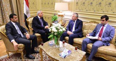 رئيس لجنة العلاقات الخارجية بالبرلمان يستقبل سفير أرمينيا لمناقشة سبل التعاون
