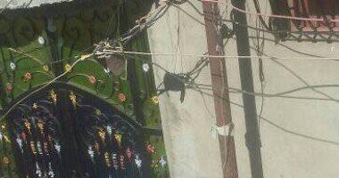 شكوى من عمود إنارة مهلك في قرية السخاوي بكفر الشيخ