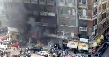 السيطرة على حريق شب داخل عقار بمنطقة الأهرام فى بنها اليوم السابع