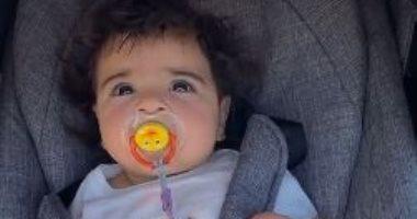 """اليوم..محمد صلاح يحتفل بعيد الميلاد الأول لابنته الصغرى """"كيان"""""""