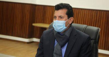 وزير الرياضة يوجه رسالة للاعبى الإسماعيلى والأندية الشعبية.. فيديو