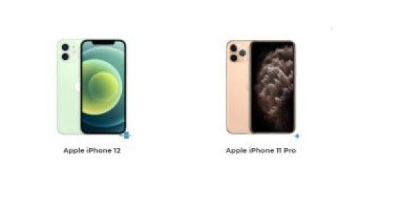 أهم الفروقات بين هاتفى iPhone 12 وiPhone 11 Pro