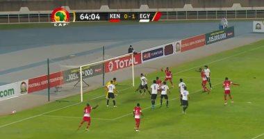 The Egyptian national team tied with Kenya 1/1 and qualified for the 25th time for the African nations