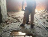 بالصور.. محافظ سوهاج: تنفيذ إزالة 13 حالة تعد بالبناء بحى شرق