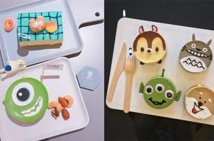 台北跟台中都吃得到!這家咖啡廳的富士山咖哩和卡通蛋糕太療癒了,私心最愛龍貓這款!