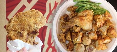 【新竹美食】有史以來看過最厚實又多汁的雞排就在「娘娘雞排」!還有堪比雞腿的超嫩雞胸、像泡芙的酥脆芋香球