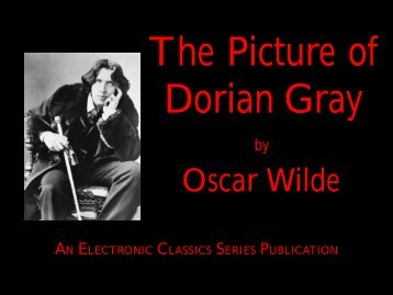 Study guide questions answer key!the picture of dorian gray