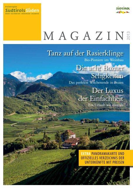 Magazin Südtirols Süden