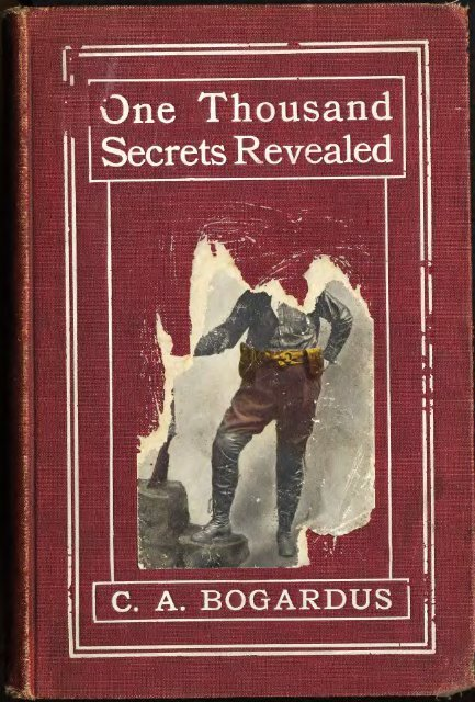 one thousand secrets revealed