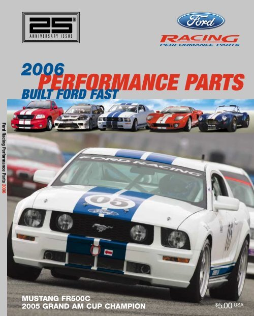 Ford Racing Performance Parts Catalog