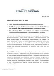2007 Interactive Registration Document Renault