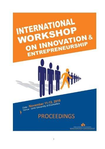 International Entrepreneurship Congress 2 PROCEEDINGS