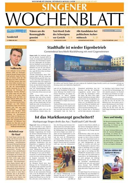 09 feb 2011 singener wochenblatt