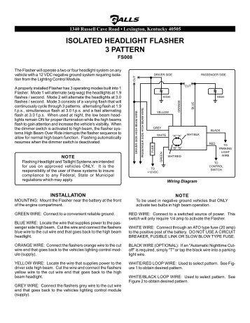 Superb Wig Wag Flasher Wiring Diagram Basic Electronics Wiring Diagram Wiring Digital Resources Timewpwclawcorpcom