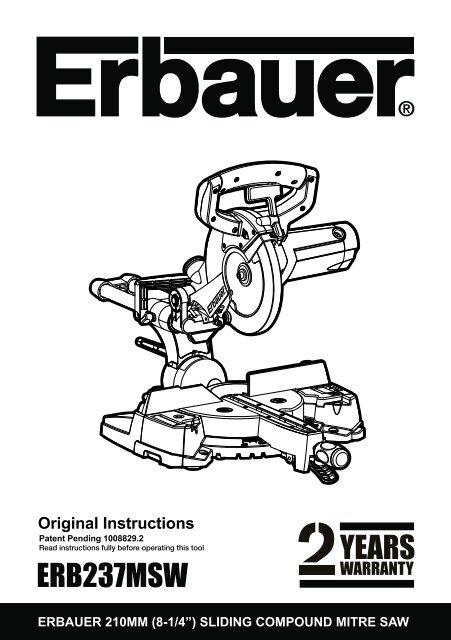Erb237msw Free Instruction Manuals Com