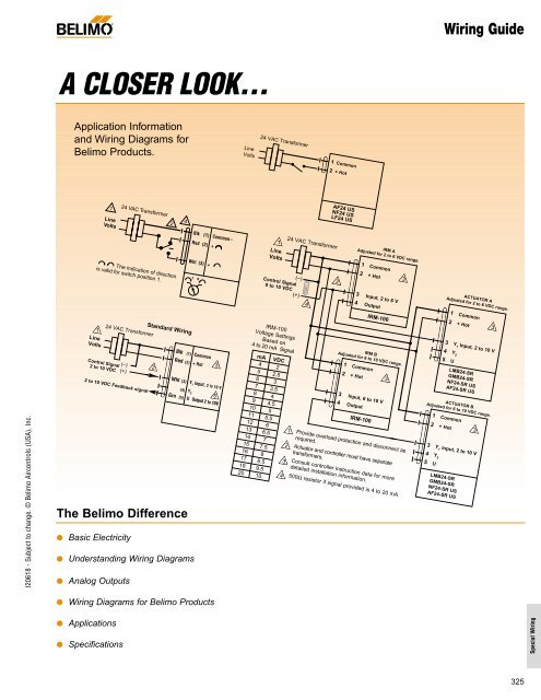 belimo actuator wiring guide  industrial controls