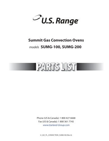 summit sumg series gas convection ovens garland garland ?resize\=357%2C462\&ssl\=1 blodgett convection oven wiring diagrams wiring diagrams blodgett dfg 50 wiring diagram at bayanpartner.co