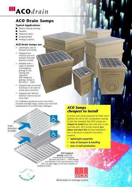 Tech Sheet Draft2 Aco Polycrete Pty Ltd