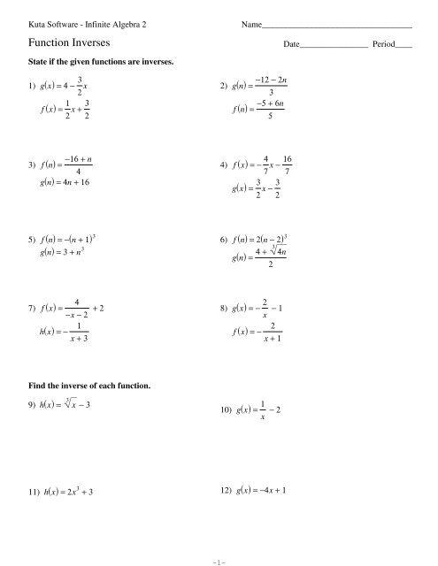 25+ Graphing Absolute Value Functions Kuta Software Algebra 2 JPG