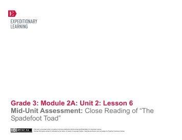 GRADE 8: MODULE 2
