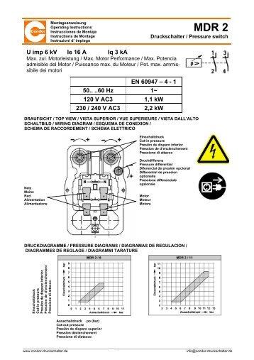 Condor Mdr2 Pressure Switch Wiring Diagram  Wiring