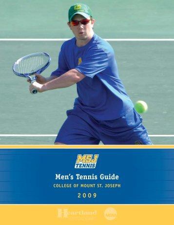 MEN'S TENNIS RECORDBOOK - University of Washington